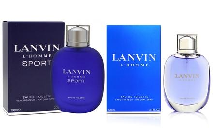 Lanvin Eau de Toilette L'Homme 100 ml et L'Homme Sport 100 ml pour homme
