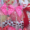 Gourmet Valentine Candy Apple and Chocolate Boxes