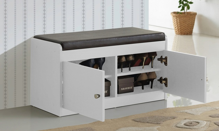 & Margaret Shoe Storage Cabinet | Groupon Goods