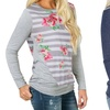 Women's Floral Long-Sleeve Sweater