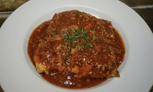 Amorosa Pasta House: Italian Meal for Two for Lunch or Dinner at Amorosa Pasta House (Up to 40% Off)