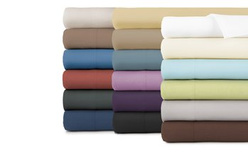 Premium Collection Double-Brushed Deep Pocket Sheet Set (6-Piece)