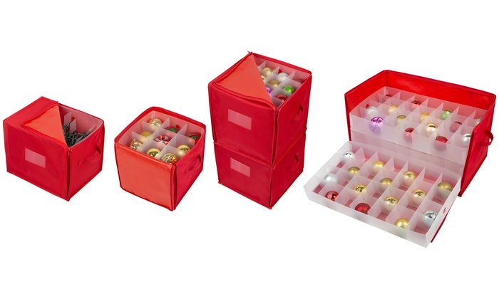 Up To 27 Off On Christmas Ornaments Storage Groupon Goods