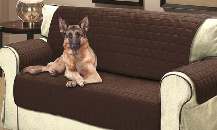 Quilted Water Resistant Pet Protector Furniture Cover: Quilted Water Resistant  Pet Protector Furniture ...