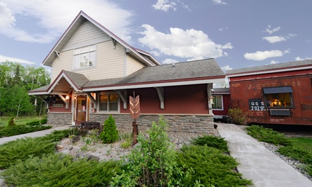 1-Night Stay for Two in Porter Room at Northern Rail Traincar Inn in Two Harbors, MN. Combine Up to 2 Nights.
