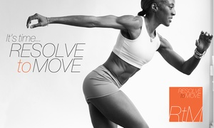 Resolve to Move: Up to 53% Off Personal Training at Resolve to Move