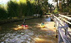 Delta Point Eventos: Desde $149 por travesía en kayak para uno o dos en Delta Point Eventos