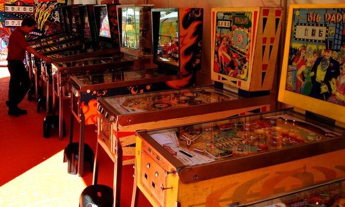 Pacific Pinball Museum - Alameda: Admission to the Pacific Pinball Museum for One Adult or Two Adults and Two Children (Up to 53% Off)