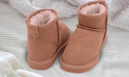 Suède laarzen voor kinderen
