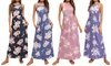 Lilly Posh New Floral Maxi Printed Dresses. Plus Sizes Available.