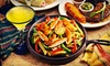 Oscar's Pinatas - South Lowell: Authentic Mexican Cuisine at Oscar's Pinatas (Up to 53% Off). Two Options Available.