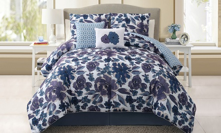 5-Piece Reversible Full/Queen or King Comforter Sets from $59.99–$69.99. Multiple Styles Available. Free Returns.