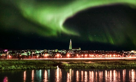 ✈ Reykjavik: 2 to 3 Nights with Northern Lights Tour or 2 Tours and Return Flights at Icelandair Hotel Reykjavik Natura*