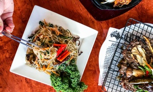 Seoul In: Korean Meal with BYO Wine for Two ($24) or Four People ($45) at Seoul In (Up to $86 Value)