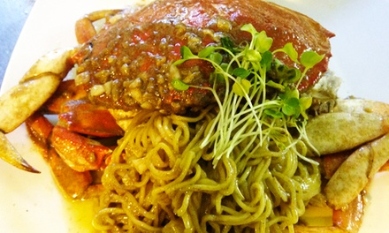 Japanese Dinner, Lunch, or Crab Dinner for Two at 2G Japanese Brasserie (Up to 42% Off)
