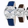 Stührling Original Men's Classic Dress Watch with Leather Strap