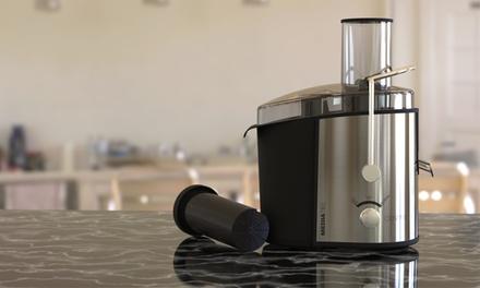 Centrifuga ed estrattore di succo Mediatec Centrix da 800 W in acciaio inox