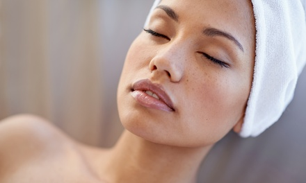 25Minute Galvanic Facial with a Back, Neck and Shoulder or Full Body Massage at All Woman Beauty
