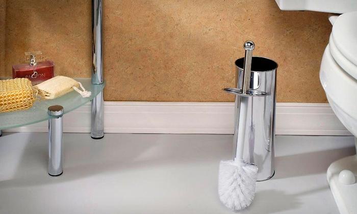 Bath Bliss Stainless Steel Toilet Brush Set: $9.99 for Bath Bliss Stainless Steel Toilet Brush Set ($32.33 List Price). Free Returns.
