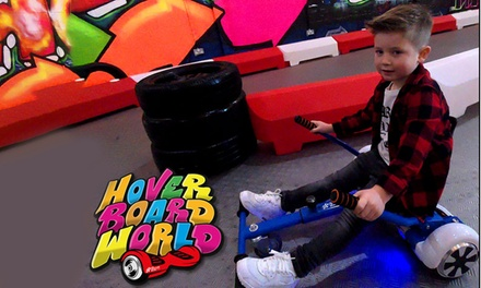 30 Minute HoverBoard Experience at Hover Board World, Chill Factore (Up to 33% Off)