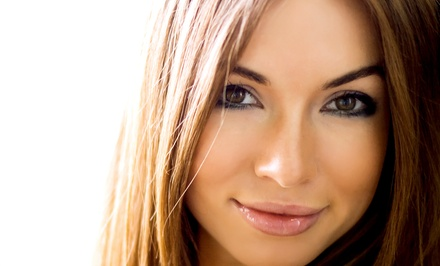 Haircut, Wash, Keratin Conditioning, and Blowout with Partial or Full Highlights at A'Lure Hair Design (Up to 67% Off)