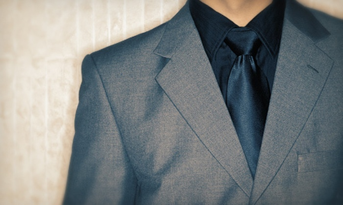 Peter Cassara Clothiers - Sunnyvale West: $499 for a Custom-Tailored Suit with Shirt, Tie, Belt, and Socks at Peter Cassara Clothiers ($2,095 Value)