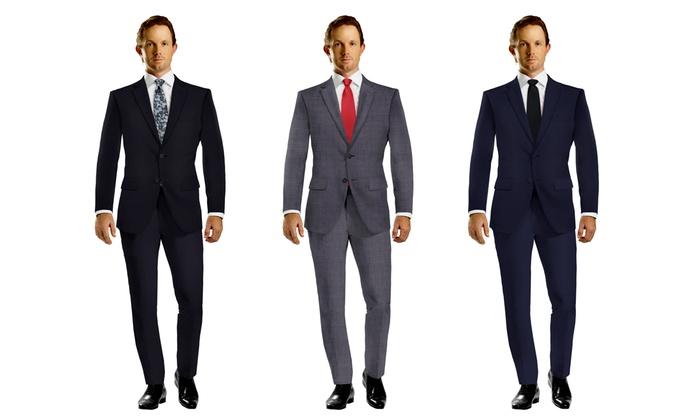 Bentex Suits: $99 for a Men's Slim Fit Suit