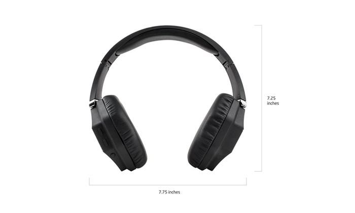 wireless bluetooth headphones groupon goods. Black Bedroom Furniture Sets. Home Design Ideas