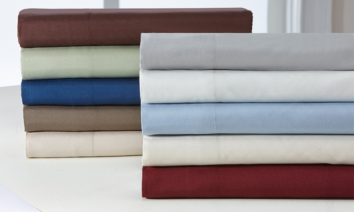 Wexley Home Wrinkle-Free Microfiber Sheet Sets (4-Piece)