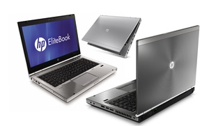 "Hp Elitebook 14"" Laptop With A Core I5 Processor, 4gb Ram, 250gb Hard Drive And Windows 7 Professional (refurbished)"