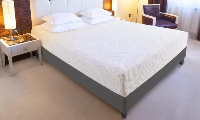 matelas m moire de forme d houssable groupon. Black Bedroom Furniture Sets. Home Design Ideas