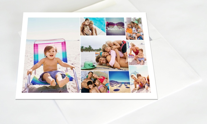 Custom Holiday Cards: 50, 75, or 100 Custom Holiday Cards from Collage.com. Free Shipping.