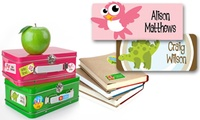 GROUPON: Up to 77% Off Personalized Children's Name Labels Dinkleboo