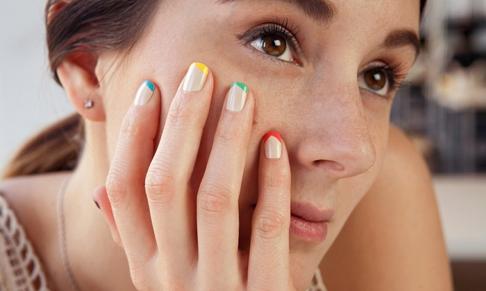 Reflexions Hair Salon - Newington: One or Two Mani-Pedis at Reflexions Hair Salon (Up to 53% Off)