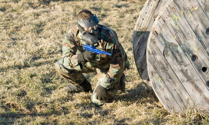 Capital Combat Zone - Brunswick: Paintball Package for Two or Four with Admission, Equipment, and Paintballs at Capital Combat Zone (Up to 52% Off)