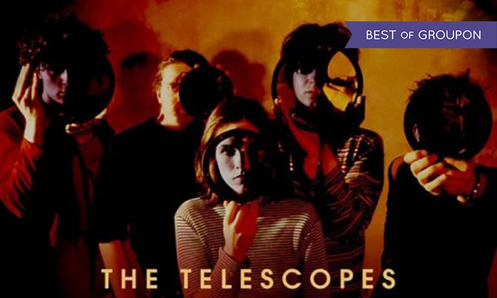 THE TELESCOPES + Secret Fix + Tommy And Mary - 100 club: General Admission Tickets to The Telescopes at 100 Club, Wednesday 25 January