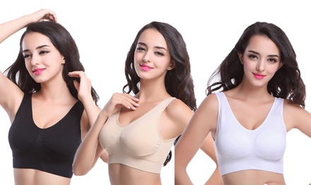 Seamless Zero Bras in Choice of Size Three $16 or SixPack $24 Don't Pay up to $89.90