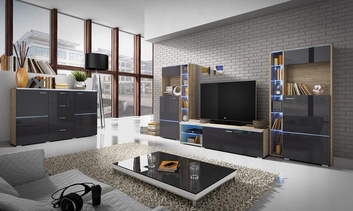 selsey living wohnzimmer-set   groupon goods, Wohnzimmer