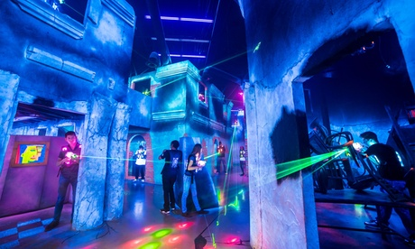 Laser Tag for Two or Four at Battle Blast Laser Tag (Up to 50% Off). Three Options Available. 3e4c2c66-3e5d-455f-bf06-0b9b9586f33a