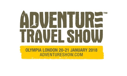 Adventure Travel Show, 20–21 January 2018 at Olympia (Up to 40% Off)