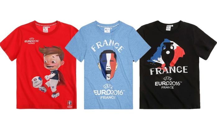 UEFA EURO 2016 T-Shirts in der Farbe nach Wahl (60% sparen*)
