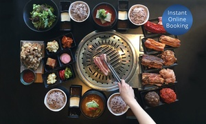 By Korea - Richmond: $69 for All-You-Can-Eat Korean BBQ Meal for Two People at By Korea, Richmond (Up to $94 Value)