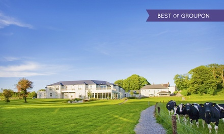 Co. Westmeath: 1 Night for Two with Breakfast, Afternoon Tea and Spa Access at Temple Lodge and Spa