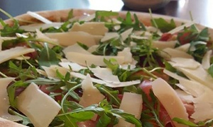 Padano Pizza and Pasta: Pizza, Pasta or Risotto with Optional Wine for Two or Four at Padano Pizza and Pasta (Up to 48% Off)