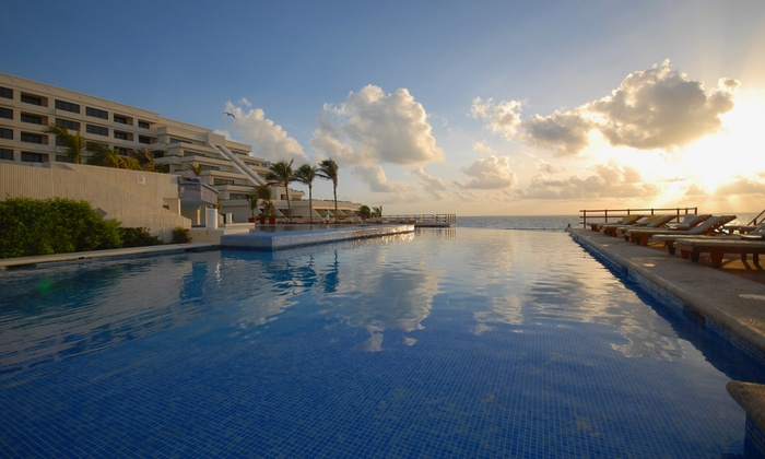 All-Inclusive Grand Oasis Sens Trip w/Air from Vacation Express