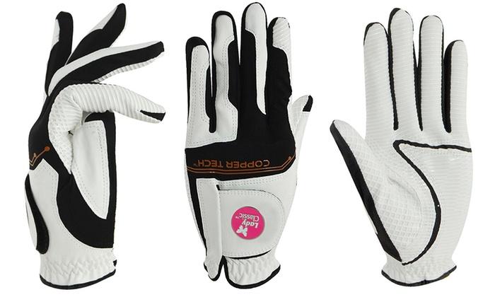 Copper Tech Golf Glove for Men and Women