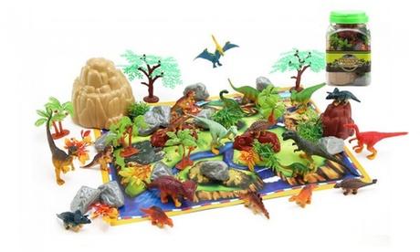 Korting Set met speelgoed dinosaurussen Amsterdam
