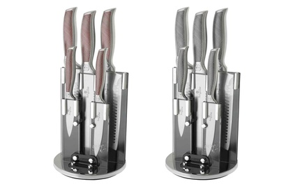 Berlinger Haus FivePiece Knife Set with Stand