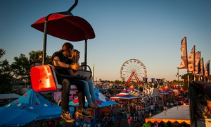 Ohio State Fair – Up to 40% Off  at Ohio State Fair, plus 6.0% Cash Back from Ebates.