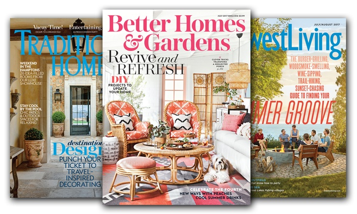 Magazine subscription meredith corporation livingsocial - Better homes and gardens customer service ...